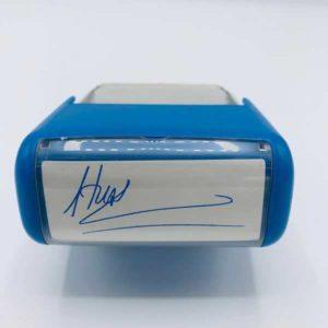 Khắc dấu chữ ký – Kích thước  45mm x 17mm
